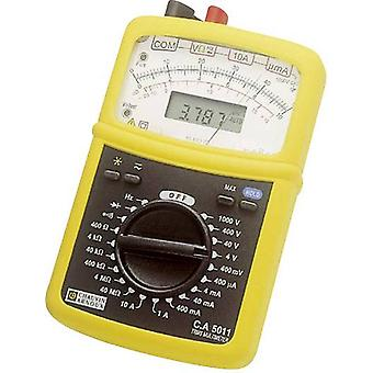 Handheld multimeter Analogue, Digital Chauvin Arnoux C.A 5011 Calibrated to: Manufacturer's standards (no certificate)