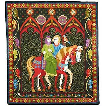 Green Lady Needlepoint Kit
