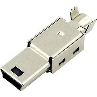 Plug, straight DS1105-01-BBN0 Connfly Content: 1 pc(s)