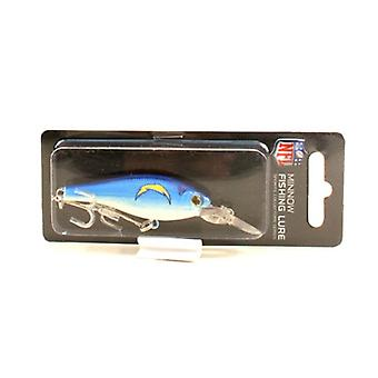 Los Angeles Chargers NFL Minnow Fishing Lure