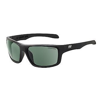 Dirty Dog Axle Sunglasses - Black / Green