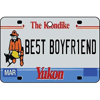 YUKON - Best Boyfriend License Plate Car Air Freshener