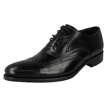 Mens Loake Polished Leather Lace Up Shoes Jones