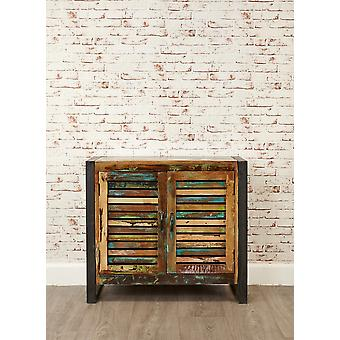 Urban Chic 2 Door Small Sideboard Brown - Baumhaus