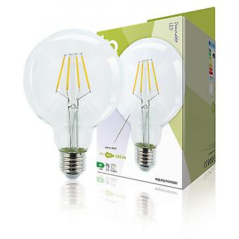 HQ LED Retro bulb E27 Dimmable G95 4 W 345 lm 2700 K