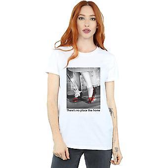 The Wizard Of Oz Women's Ruby Slippers Photo Boyfriend Fit T-Shirt