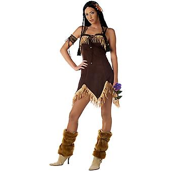 Indian Princess Native American Pocahontas Western Women Costume