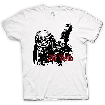 Womens T-shirt - Predator What The Hell - Alien