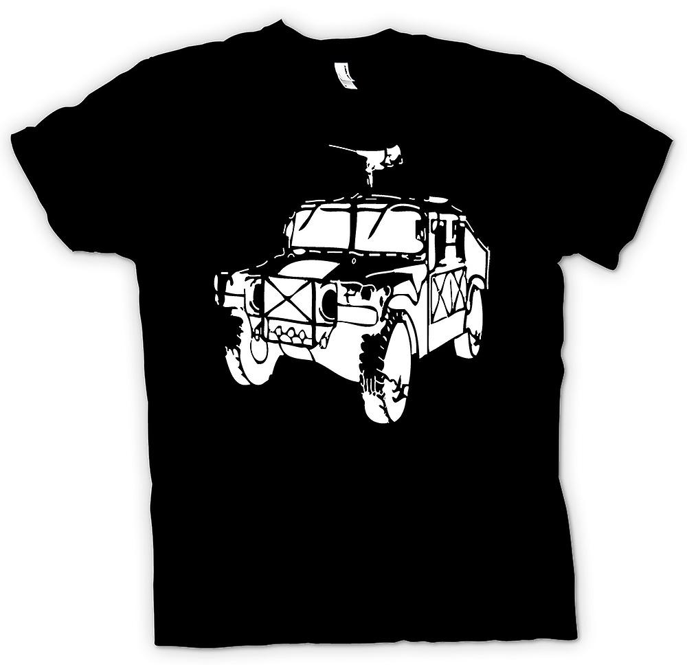 Mens T-shirt - US Army Humvee - Stencil