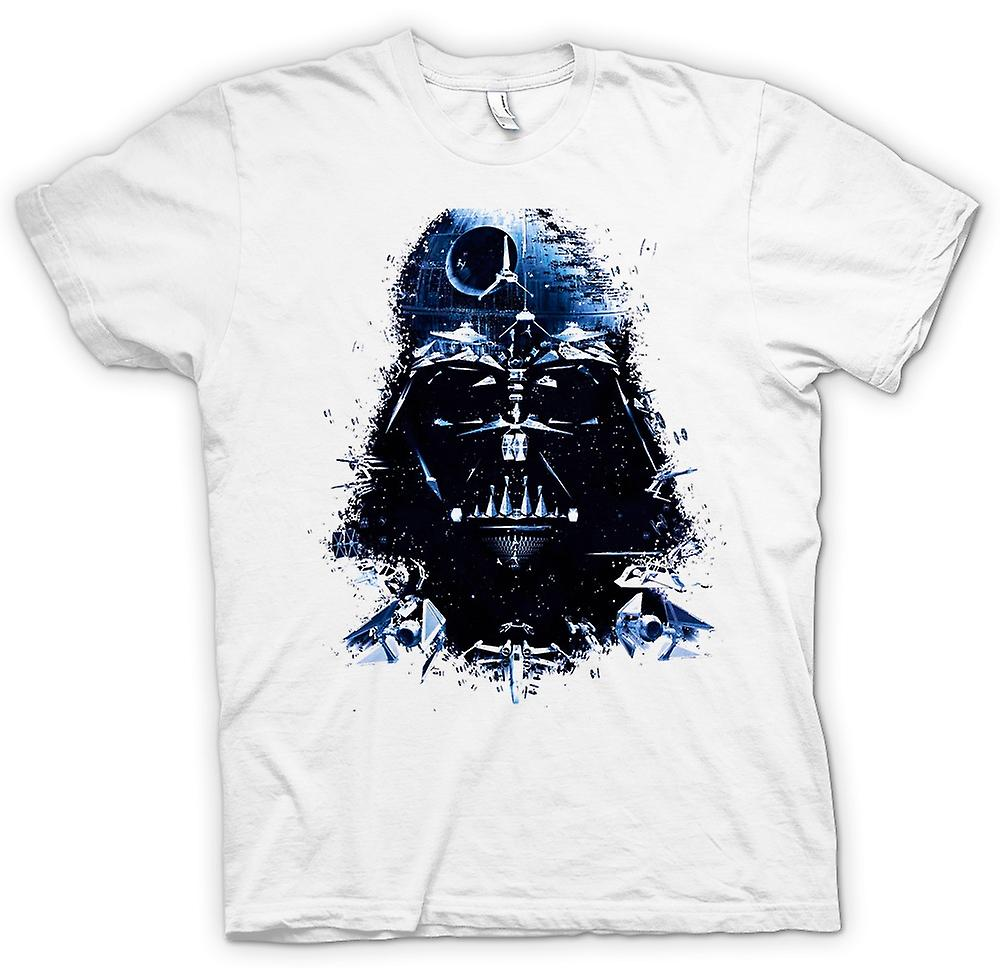 Womens T-shirt - Darth Vader - Death Star