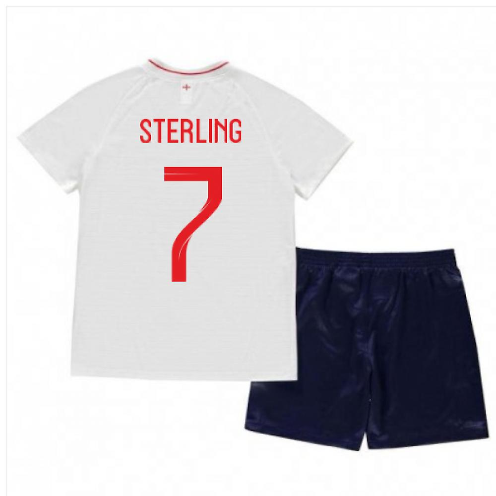2018-2019 England Home Nike Baby Kit (Sterling 10)