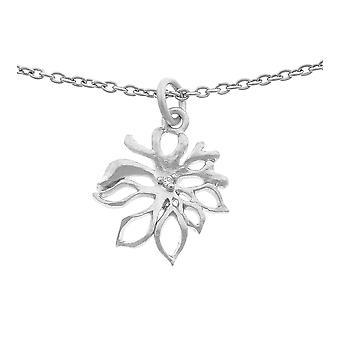 Orphelia plata 925 cadena con colgante zirconio ZH-6027