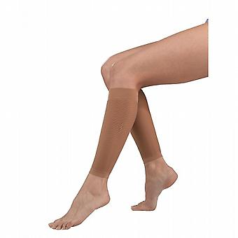 Solidea Leg Footless Support Socks [Style 316A5] Noisette (Dark Beige)  XL
