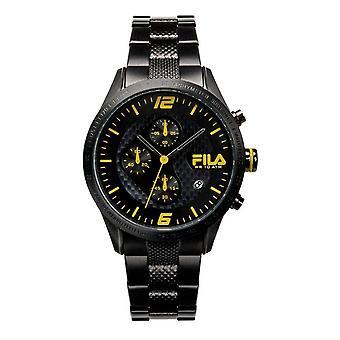 Fila mäns klocka chronograph rostfritt stål FA38-001-004