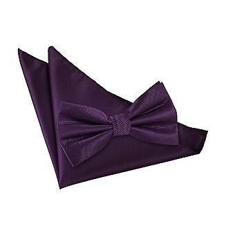 Cadbury viola tinta Check Papillon & Set Square Pocket