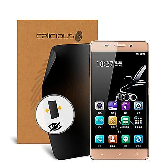 Celicious Privacy 2-Way Visual Black Out Screen Protector for Gionee Marathon M5 Lite