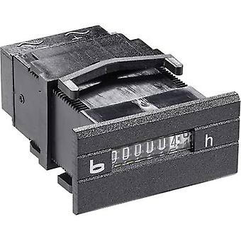 Bauser 252,2 Miniatur Betriebsstundenzähler-252.2 Montage Abmessungen 45 x 22 mm