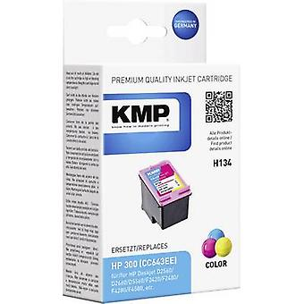 KMP Ink replaced HP 300 Compatible Cyan, Magenta, Yellow H134 1710,4840