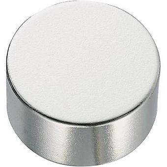 Conrad Components Permanent magnet Circular N35EH 1.2 T Temperature limit (max.): 200 °C