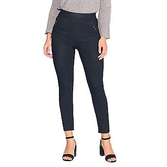 KRISP Polka Dot Straight Leg Trousers