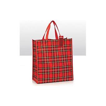Union Jack bære Royal Stewart Tartan Shopping Bag