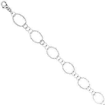 Naszyjnik łańcuch 925 sterling silver 80 cm Srebrny łańcuch karabińczykiem