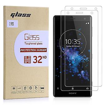 Extra Armoured Tempered Glass for Sony Xperia XZ2 - 2 Pack