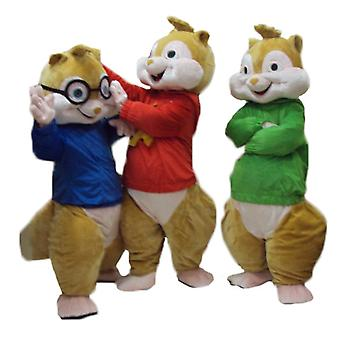 3 mascot SPOTSOUNDs of squirrels, to Alvin and the Chipmunks