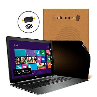 Celicious Privacy 2-Way Anti-Spy Filter Screen Protector Film Compatible with HP Pavilion 17 V3A33AV