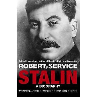 Stalin - biografia autorstwa Robert Service - 9780330518376 książki