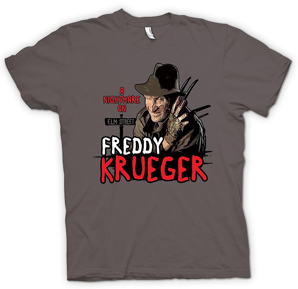 Womens T-shirt - Nightmare On Elm Street - Freddy Krueger