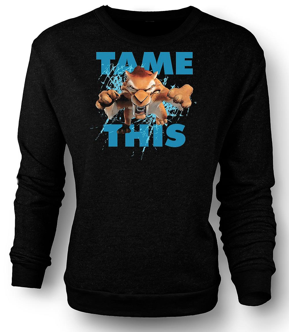 Mens Sweatshirt Ice Age - Diego Tame This