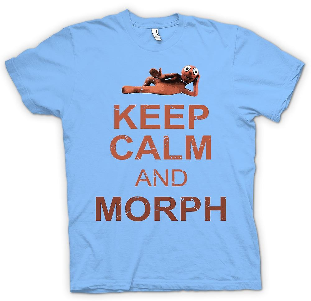 Mens T-shirt - Keep Calm And Morph - Hartbeat Inspired