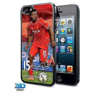 Liverpool FC iPhone 5/5S/5SE Sturridge 3D Hard Case