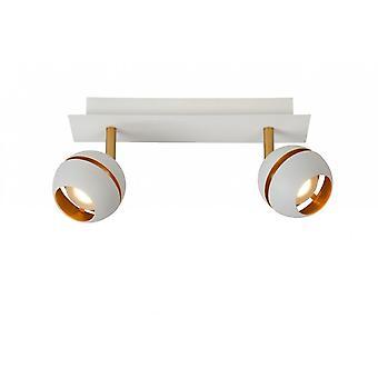 Lucide en binaire hulpprogramma's moderne rechthoek metaal wit plafond Spot Light