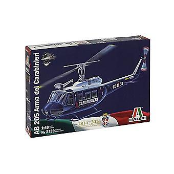 Italeri 2739 AB 205 Arma dei Carabin Ieri helikopter