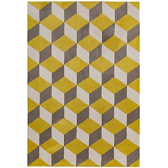 Arlo Ar09 Rugs In Yellow