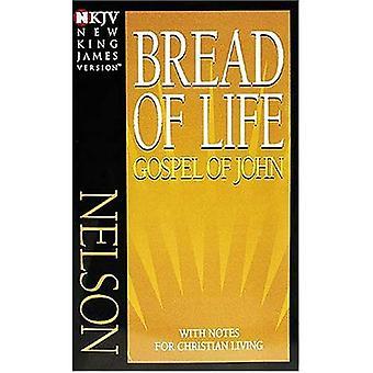 Pan de vida/paquete: Evangelio de John, nueva versión de King James, no. 12J