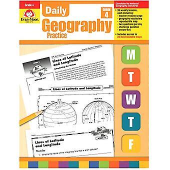 Dagliga geografi praxis, Grade 4