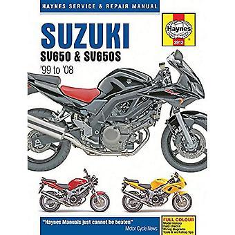 Suzuki SV650 & SV650S Motorcycle Repair Manual: 99-08 (Haynes Service & Repair Manual)