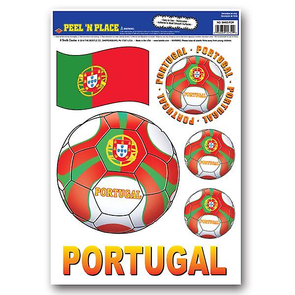 Portugal Peel 'n' Place Removable Stickers