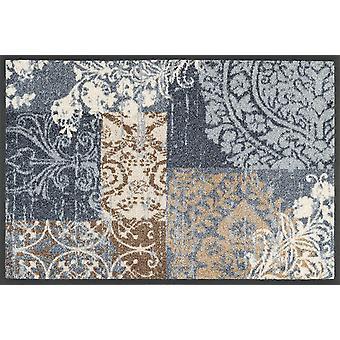 wassen + droge Armonia grijs mat 40 x 60 cm, wasbaar Vloermatten