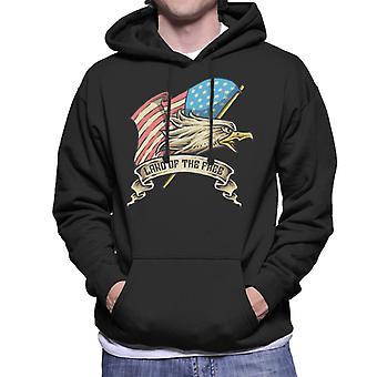American Bald Eagle hoved mænds hættetrøje