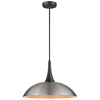 Spring Lighting - Chichester  Satin Nickel Pendant  TUBN045TO1QFOE