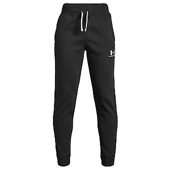 Under Armour bomull Fleece barna Jogging bunnen treningsdrakt Pant Black