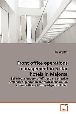Front office operations hommeageHommest in 5 star hotels in Majorca by Bely & Yauheni