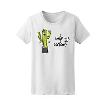 Morsomme kaktus Hula Hoop Tee kvinner-bilde av Shutterstock