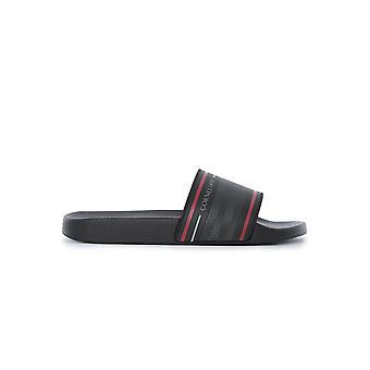 Corneliani Black Pvc Sandals