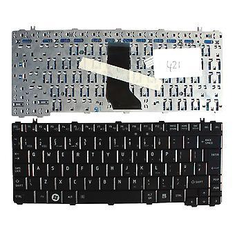 Toshiba Satellite T135-SP2911C lucido nero UK Layout sostituzione tastiera portatile