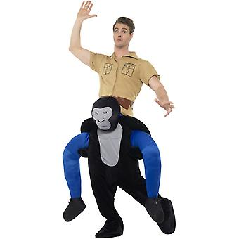 A due vie a due vie costume da Gorilla costume